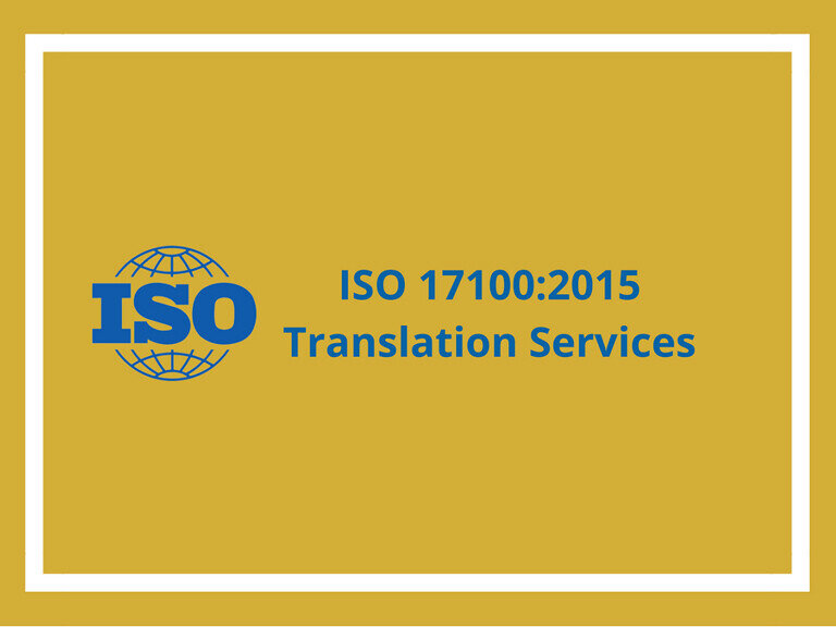 Professional Translation Process according to ISO 171002015